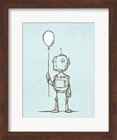 Robot Balloon Fine Art Print