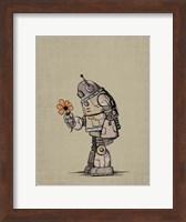 Robot Flower Fine Art Print