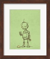 Robot Icecream Fine Art Print