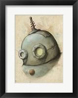 Robot Painting Fine Art Print