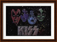 KISS - Face Off Multi Color Fine Art Print
