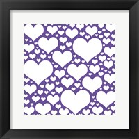 Purple Heart Storm Fine Art Print