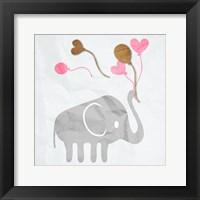 Elephant Balloon Fine Art Print