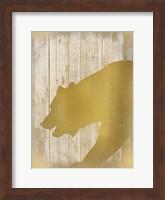 Golden Wildlife 1 Fine Art Print