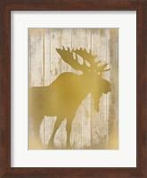 Golden Wildlife 2 Fine Art Print