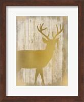 Golden Wildlife 3 Fine Art Print