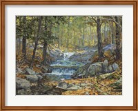 Glen Creek Waterfalls Fine Art Print