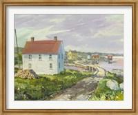 Small Bridge at Badgers Quay Fine Art Print