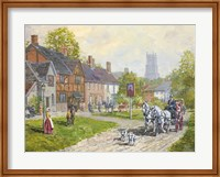 The Passing Carriage Fine Art Print