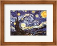 The Starry Night, c.1889 Fine Art Print