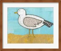 Seagull by the Seashore Fine Art Print
