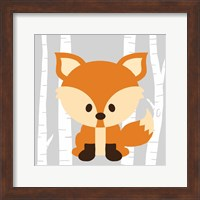 Woodland Fox Fine Art Print