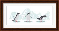 Minimalist Penguin Trio, Boys Fine Art Print