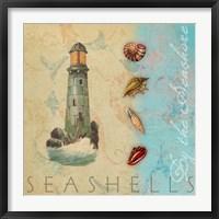 By the Seashore Fine Art Print