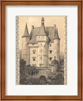Bordeaux Chateau III Fine Art Print