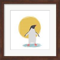 Minimalist Penguin, Boys Part II Fine Art Print