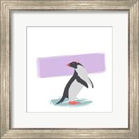 Minimalist Penguin, Girls Part I Fine Art Print