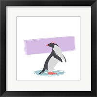Minimalist Penguin, Girls Part I Fine Art Print