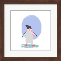 Minimalist Penguin, Girls Part II Fine Art Print