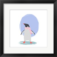 Minimalist Penguin, Girls Part II Fine Art Print