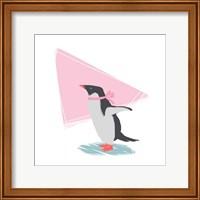 Minimalist Penguin, Girls Part III Fine Art Print