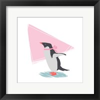 Minimalist Penguin, Girls Part III Fine Art Print