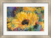 Blue Sunflowers Fine Art Print