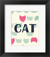 Cat Heads Fine Art Print