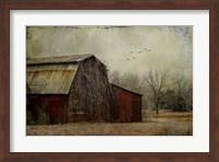 the Red Barn Fine Art Print