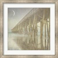 Twilight Pier I Fine Art Print