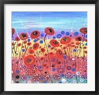 Blooms In Summer Fine Art Print