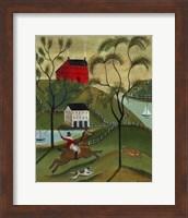 Ocean Fox Hunt Fine Art Print