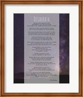 Desiderata Night Sky Fine Art Print