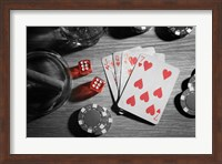 Pop of Color Poker Fine Art Print