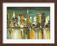 Le Mille Luci di New York Fine Art Print