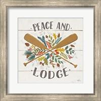 Peace and Lodge IV Fine Art Print