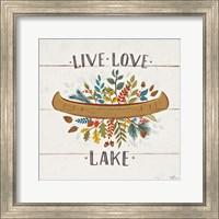 Peace and Lodge I Fine Art Print