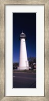 Lighthouse at the roadside, Biloxi Lighthouse, Biloxi, Mississippi Fine Art Print