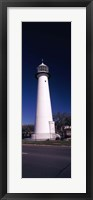 Lighthouse at the roadside, Biloxi Lighthouse, Biloxi, Mississippi Fine Art Print