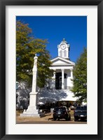 Lafayette County Courthouse, Oxford, Mississippi Fine Art Print