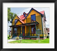 Exterior of Tennessee Williams' Birthplace, Columbus, Mississippi Fine Art Print