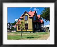 Tennessee Williams Home, Columbus, Mississippi Fine Art Print
