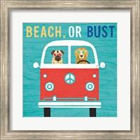 Beach Bums Bus Fine Art Print