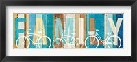 Beachscape Bicycle Family Fine Art Print