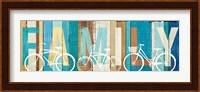 Beachscape Bicycle Family Fine Art Print