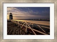 Brant Point Light at Sunrise, Nantucket Island, Massachusetts Fine Art Print