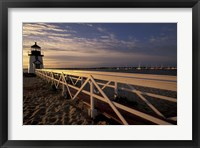 Brant Point Light at Sunrise, Nantucket Island, Massachusetts Fine Art Print