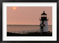 Brant Point lighthouse, Nantucket Fine Art Print