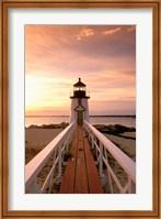 Massachusetts Nantucket Island, Brand Point island Fine Art Print