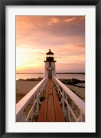 Massachusetts Nantucket Island, Brand Point island Fine Art Print